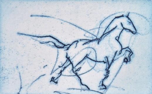 Boos paard